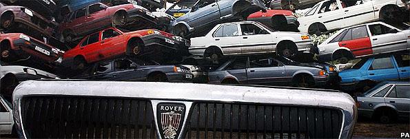 Rover 420GSi, Rover, 420GSi, GSi, Rover 400, car, classic car, retro car, old car, car crash, car jump, car stunt, motoring, automotive, ebay, ebay motors, autotrader, car, cars