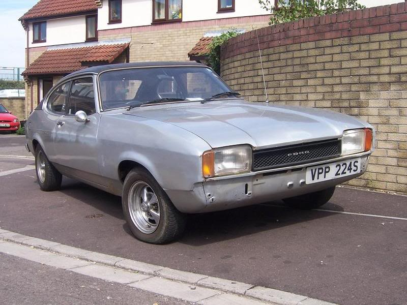 The Mk2 Capri is often overlooked, unless seen by me of course.