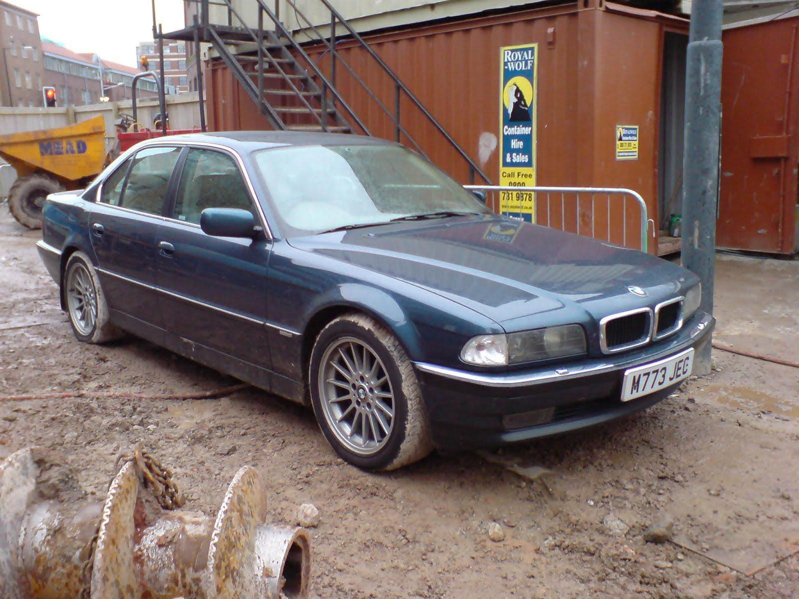 bmw, e38, seven series, 7 series, german, cars, motoring, james bond, automotive, 730i, 730, car, cars