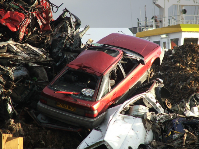 scrap, car, motoring, automotive, retro car, classic car, british leyalnd, volkswagen, vauxhall, bmw