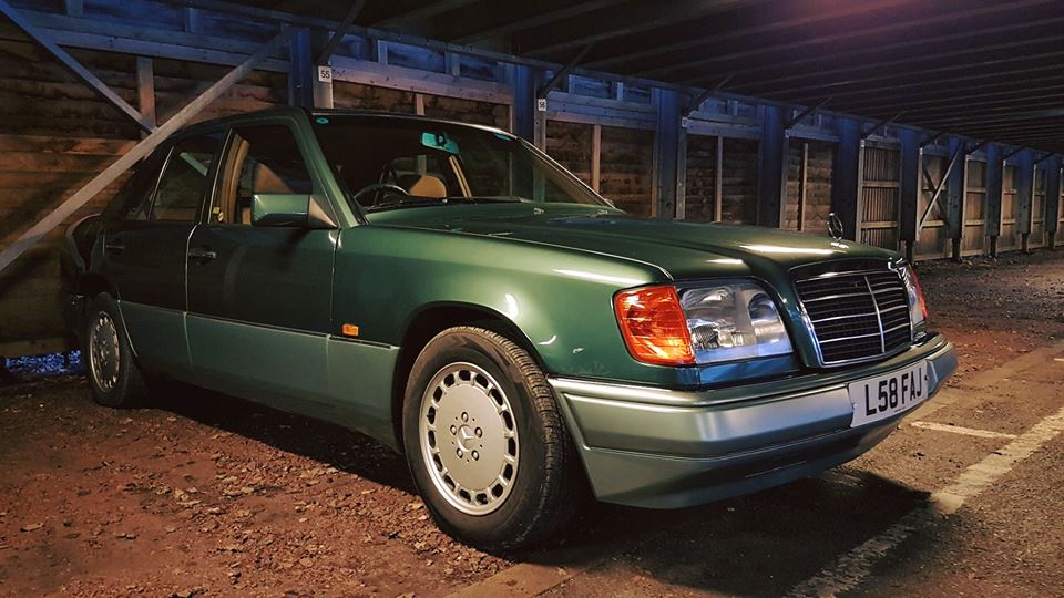 W124 - Sounds like a battle ship, is actually a Mercedes. So, same ...