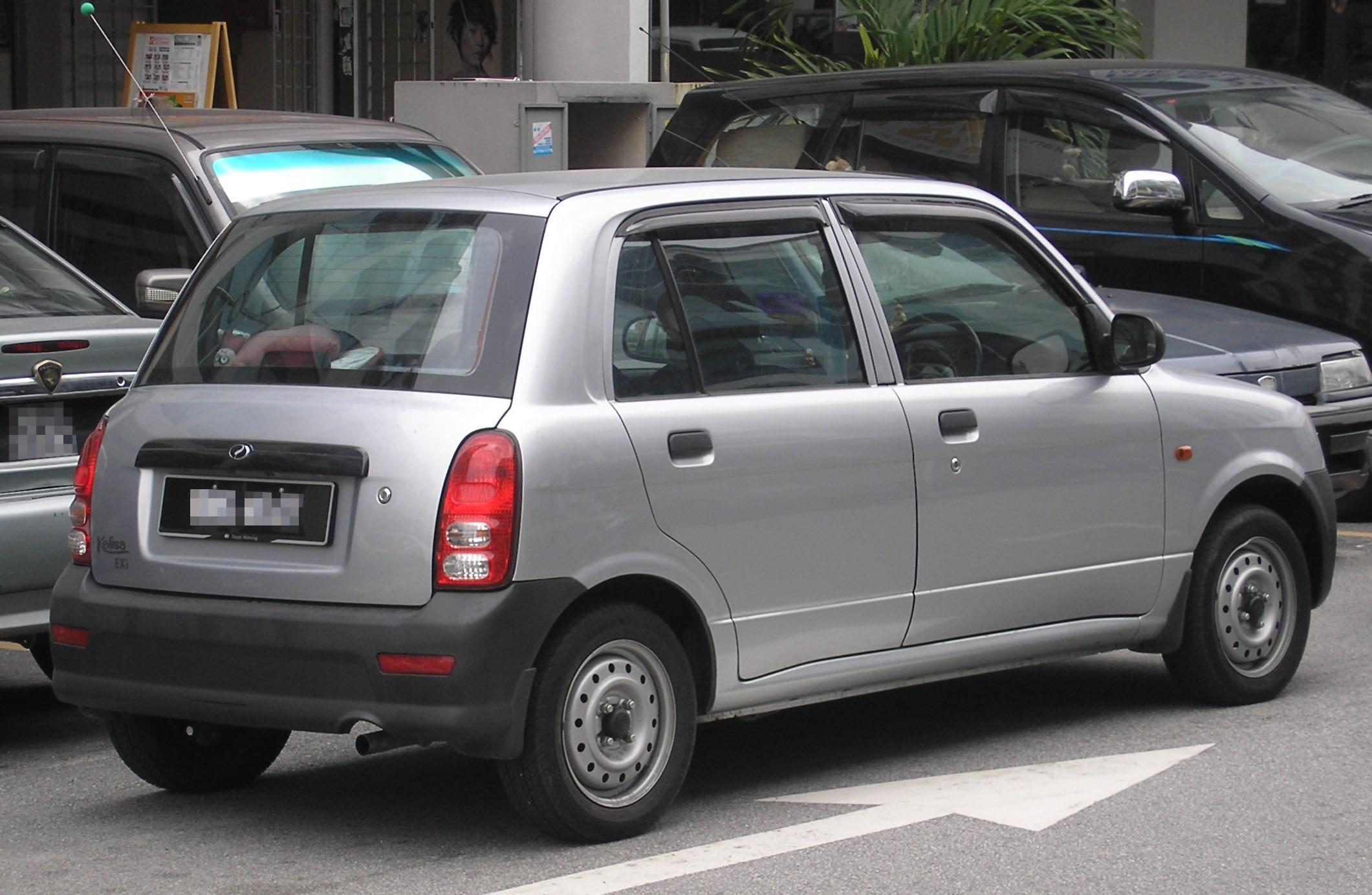 Perodua Kelisa, Perodua, Kelisa, small car, Mini, motoring, automotive, Malaysia, Malaysian, small car, kei car, fun car, first car, cheap car, classic ca, retro car, motoring, automotive