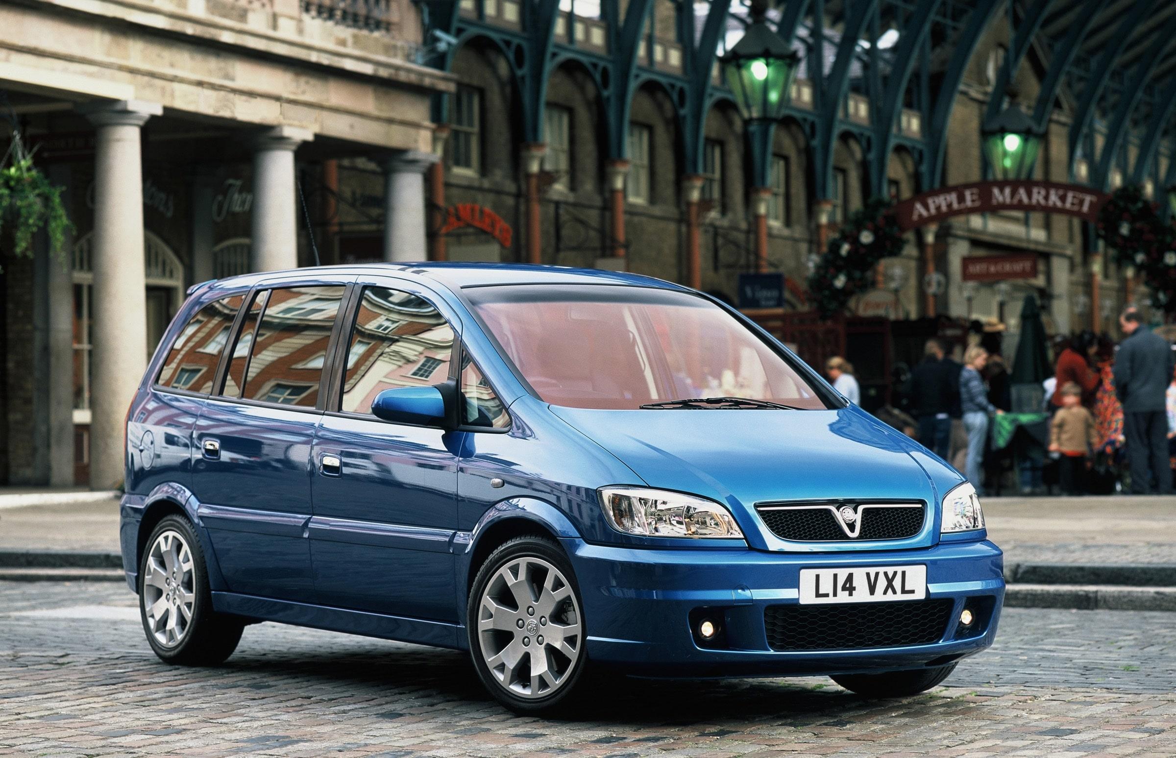 The Vauxhall Zafia GSiu2026