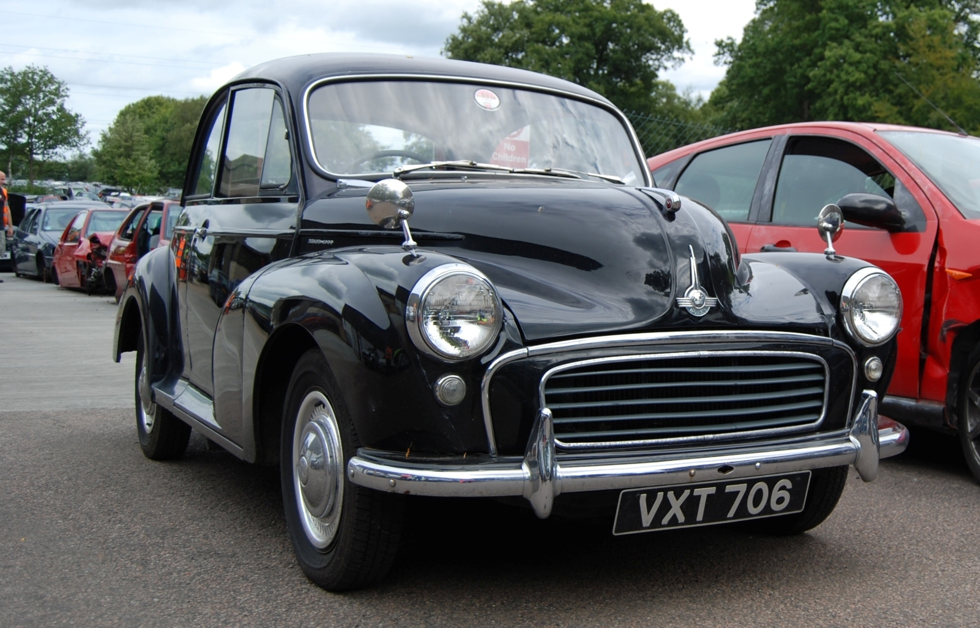 Morris Minor - Madness sang about it. You can\'t say that about a Mondeo.