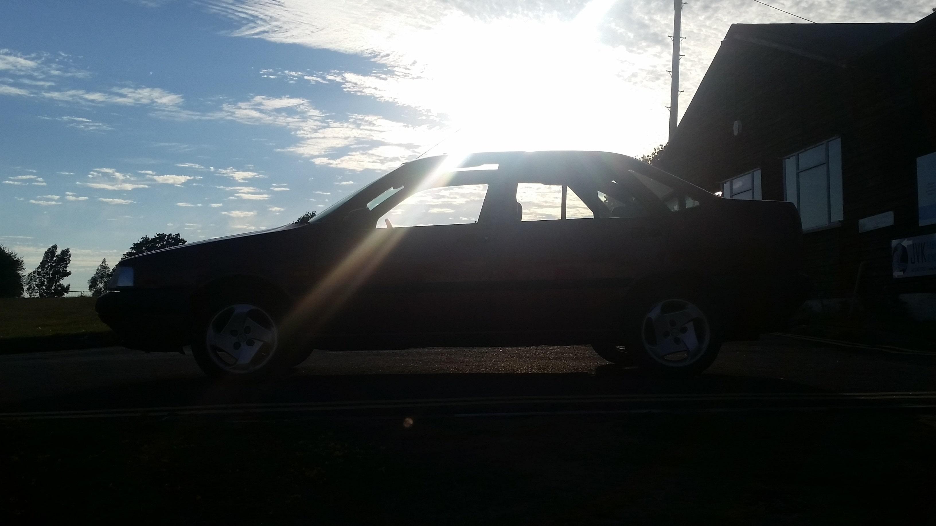 YOUR CARS: Stuart M Bird\'s Fiat Tempra 1.6SX...