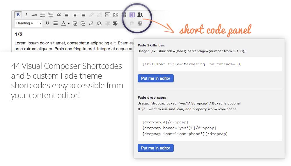shortcode-panel