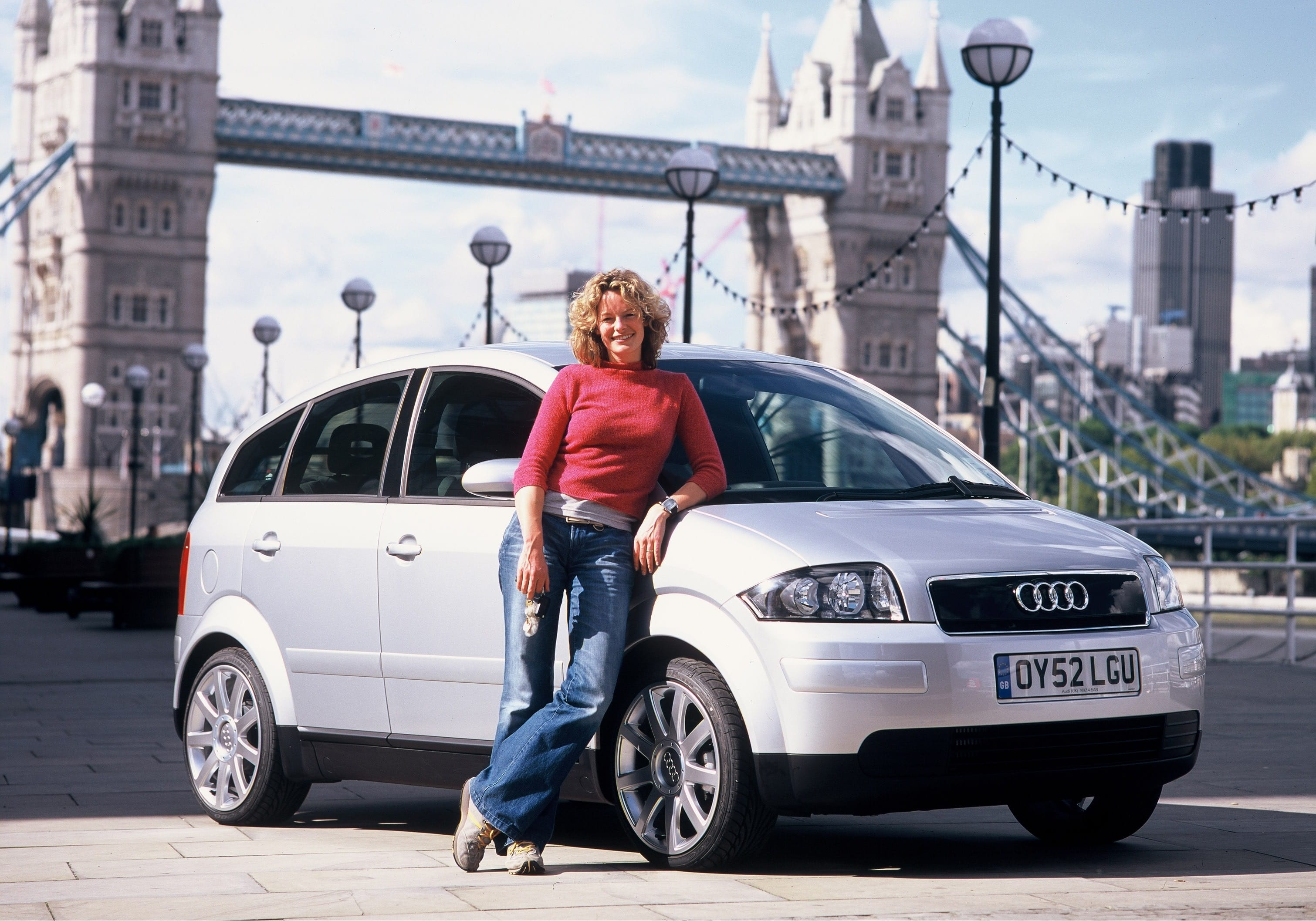 audi a2, audi, a2, cars, eco, environmental car, eco friendly, economical, aluminium, german, kate humble, motoring, automotive, cars, car, not2grand