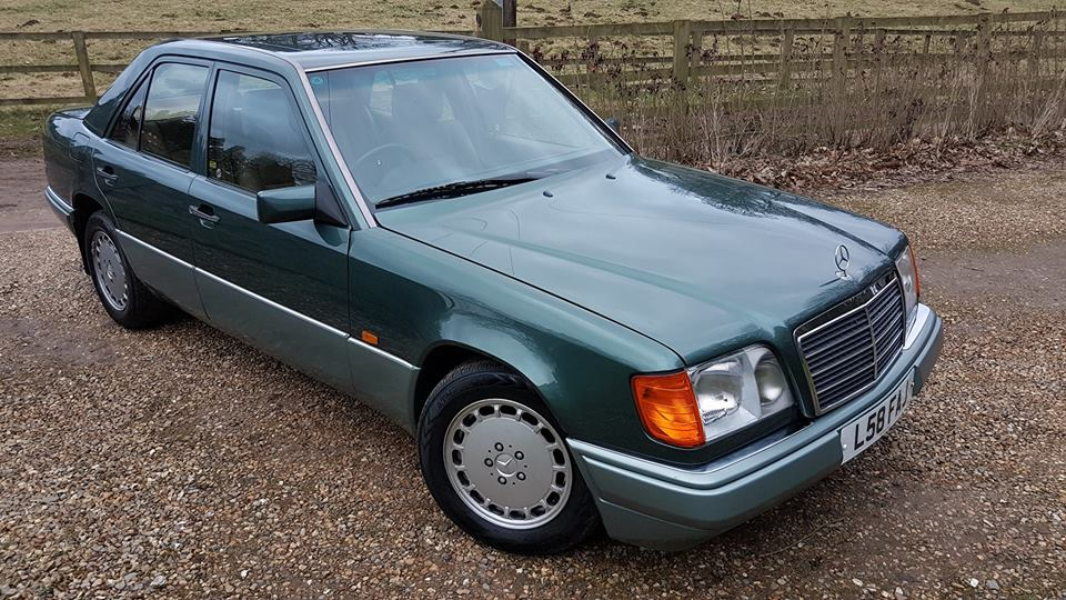 W124 - Sounds like a battle ship, is actually a Mercedes  So, same