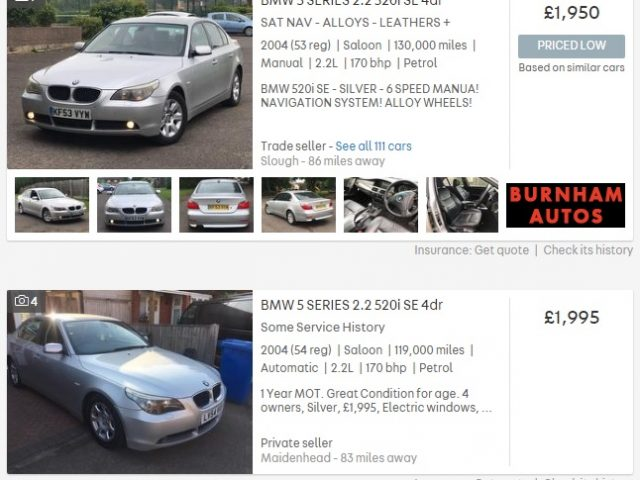 bmw, bmw 5-series, 5 series, five series, police interceptor, police, police car, sales, autotrader, motoring, automotive, car, cars, german, germany, e60, e34, e28