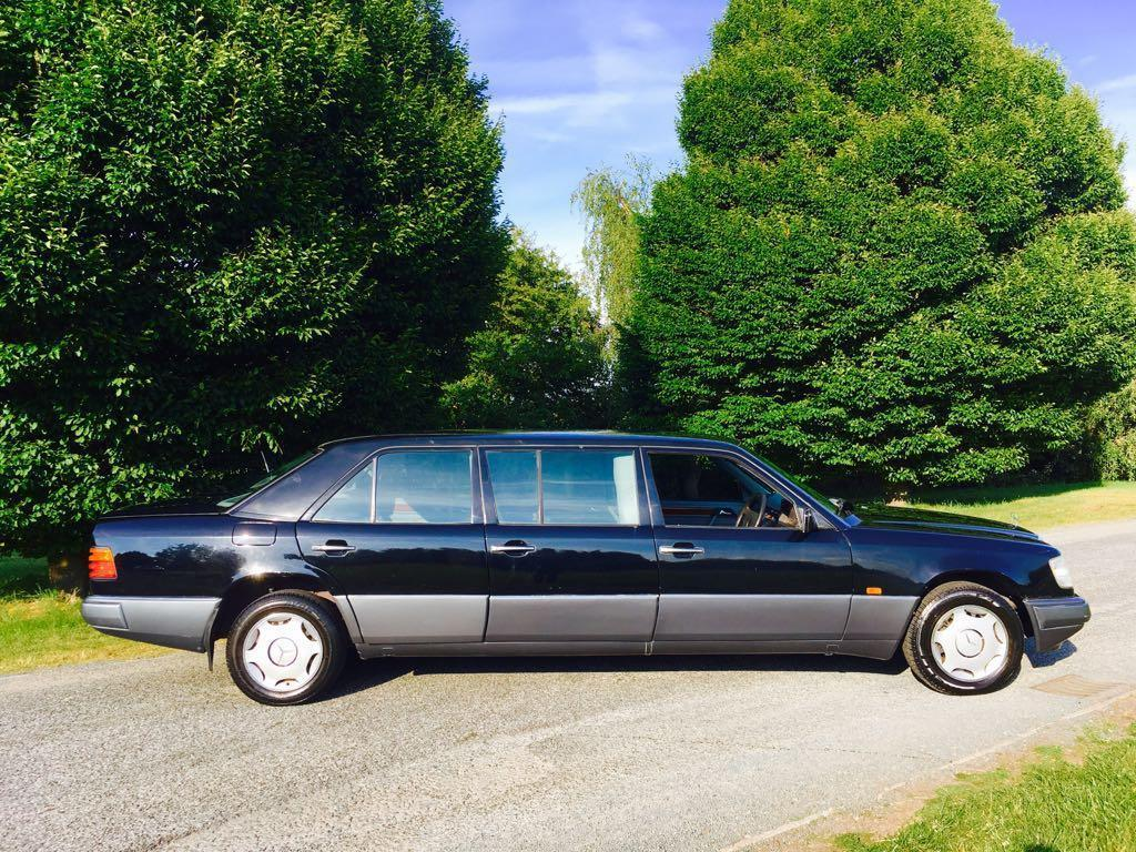 Limousine , limo, stretch, Mercedes-Benz, Mercedes, Volvo, Volvo 960, W124, Ford Scorpio, Ford, Scorpio, Vauxhall, Omega, funeral, hearse, motoring, automotive, classic car, retro car, family car, car sales, ebay motors, autotrader