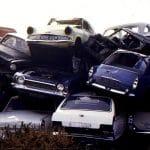 scrap car, scrap, video, car crusher, crushed car, classic car, car wreck, car destriction, old car, retro car, classic car, motoring, automotive, british pathe,