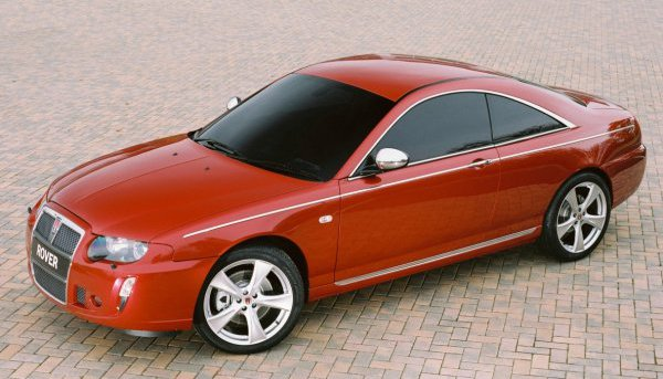 Rover, Rover 75 Coupe, 75 Coupe, Gerry Lloyd, car, Longbridge, custom car, concept car, motoring, motoring heritage, British car, classic car, retro car, bespoke car, Rover, Rover 75, MG, MG ZT, BMW, BMW Coupe