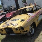 banger racer, car crash, banger, racing, motorsport, field racing, scrap car, old car, classic car, retro car, motoring, automotive, car, cars, featured