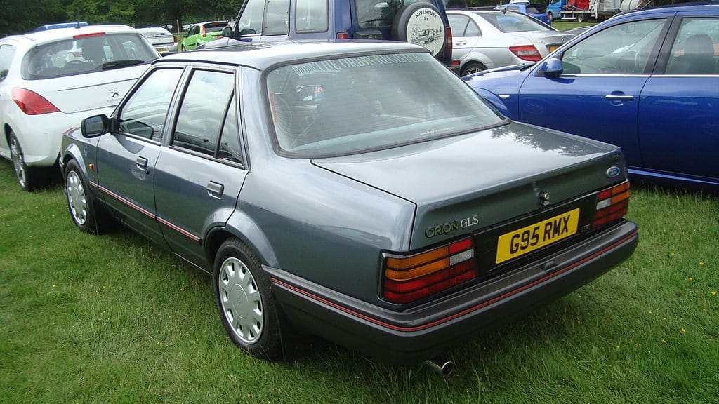 Ford, Ford Orion, Orion, Orion 1.6i Ghia, classic Ford, Retro Ford, Fast Ford, Performance Ford, RS Turbo, XR3i, classic car, retro car, saloon car, project car, Ford Orion buying guide, motoring, automotive, car, cars, featured, Not 2 Grand, www.not2grand.co.uk, Adrian Flux, car, cars, ebay, ebay motors, autotrader