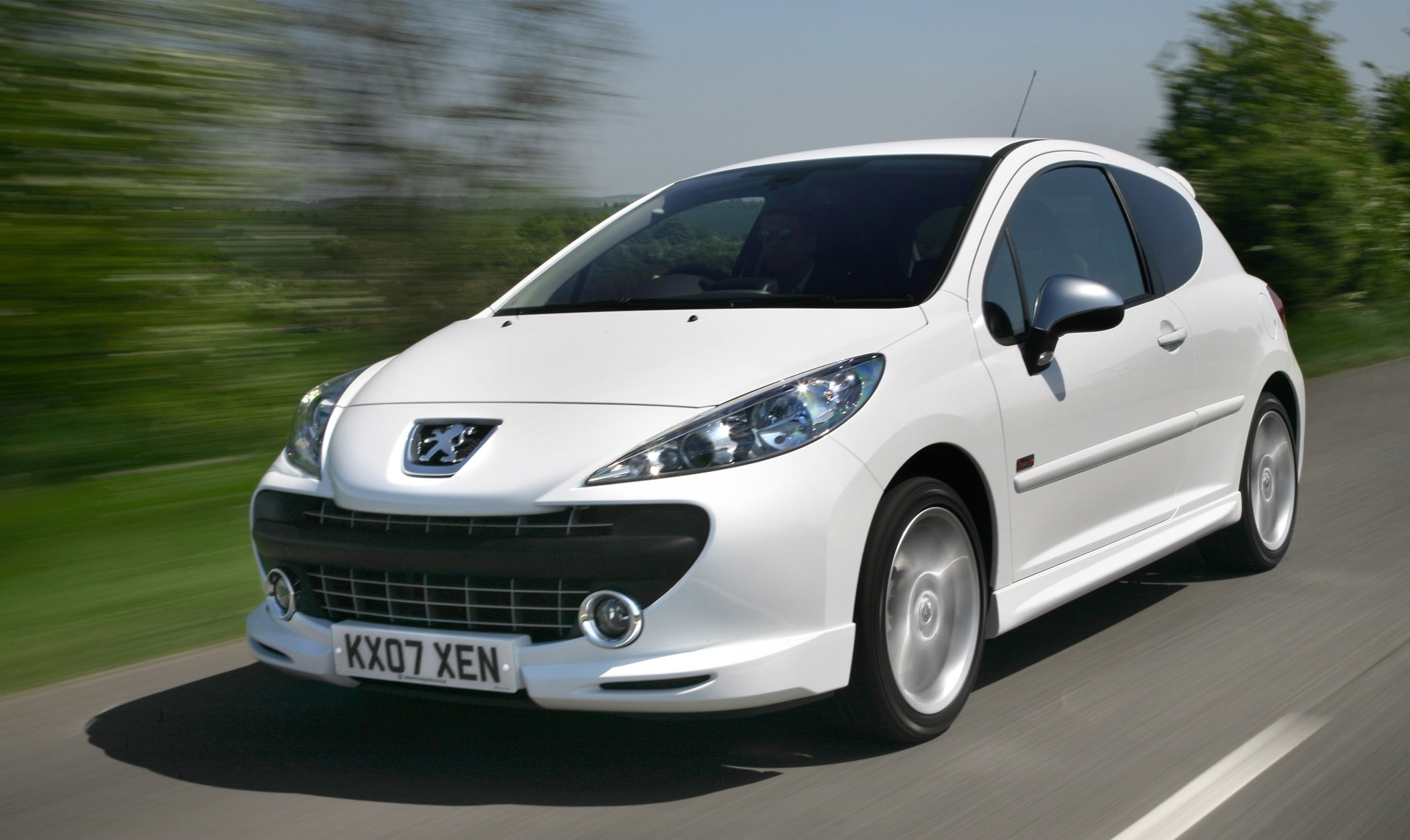 the peugeot 207 gti like the 205 but modern not 2 grand. Black Bedroom Furniture Sets. Home Design Ideas