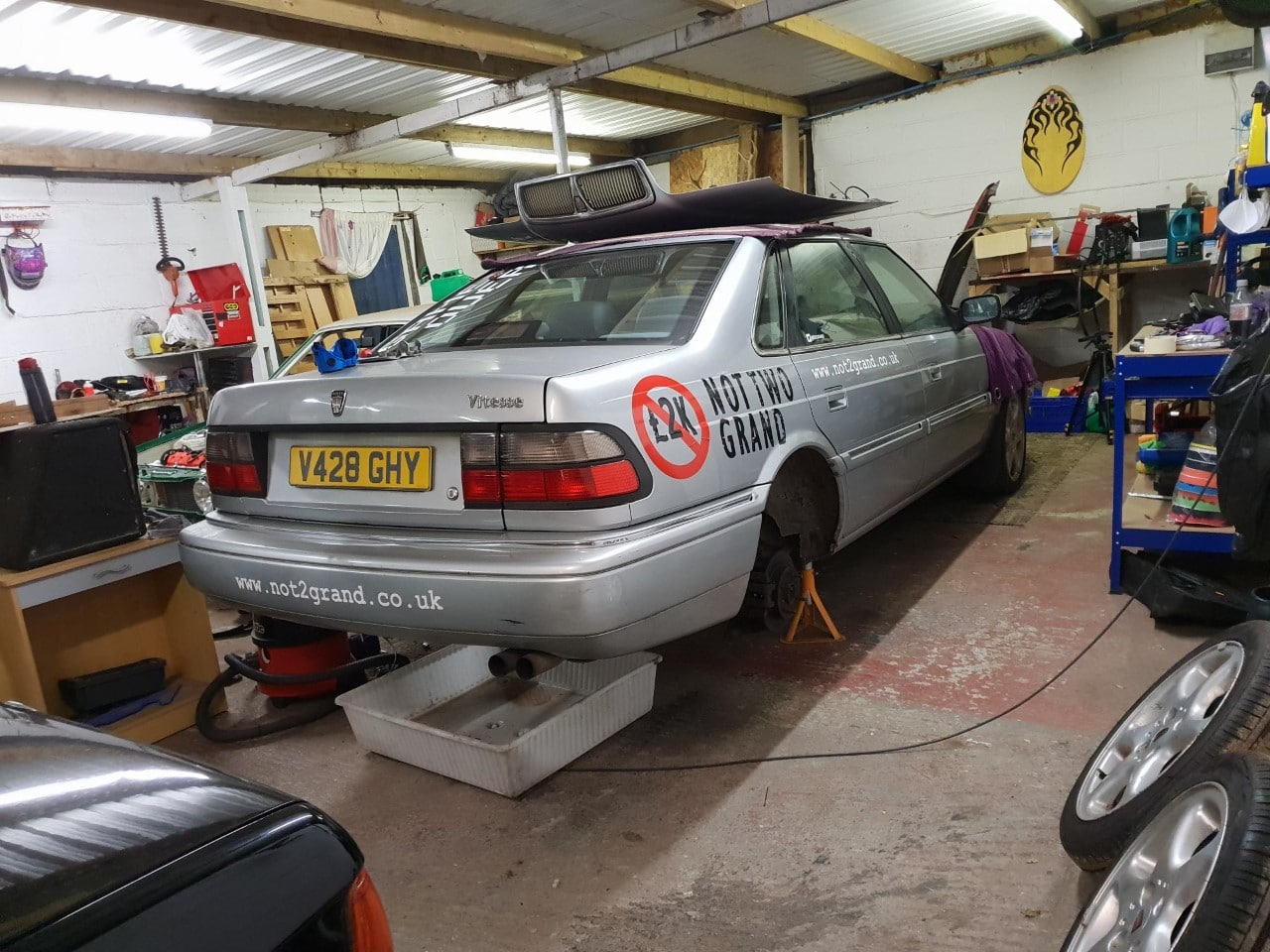 Rover 800, Rover Vitesse, Rover 800 Vitesse, Rover Vitesse Sport, Vitesse, Vitesse Sport, T16 Rover, T series turbo, turbocharged, project car, motoring, automotive, car, cars, car restoration, Longbridge, not2grand, www.not2grand.co.uk, adrian flux, classic car, retro car, featured, ebay, ebay motors, autotrader,