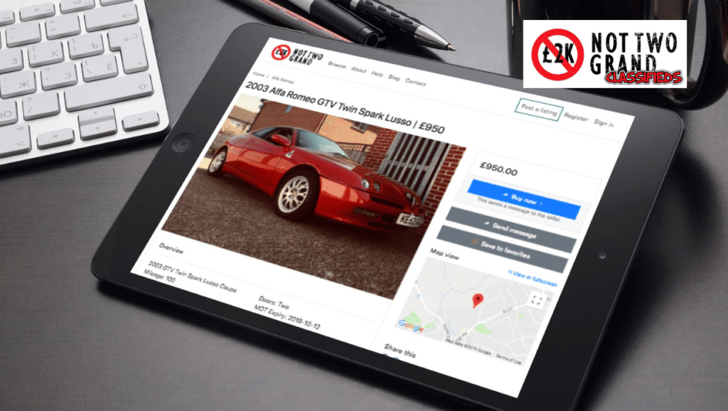 Not 2 Grand Classifieds System Launch