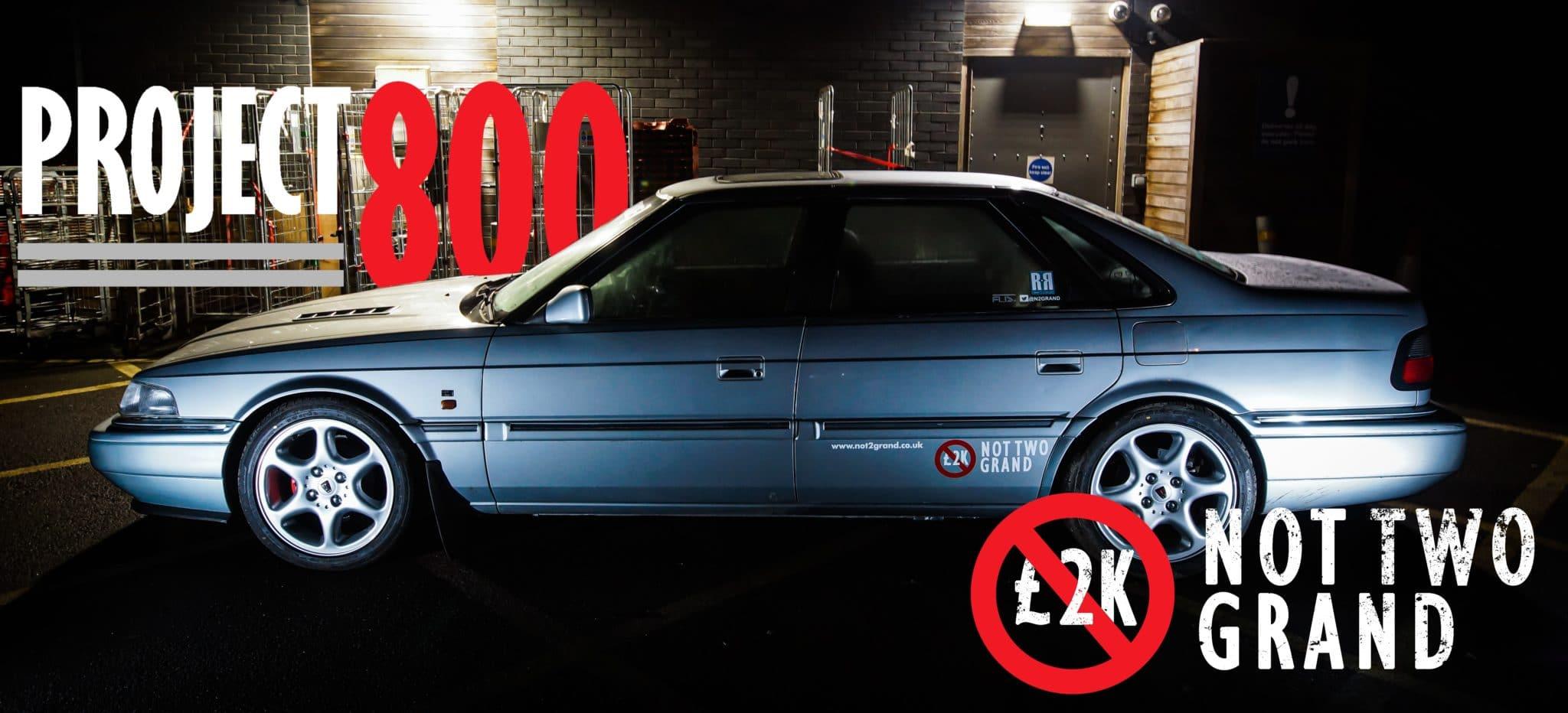 Project 800, Rover 800, Rover Vitesse, Rover 820, Rover Vitesse Sport, classic car, retro car, motoring, automotive, project car, restoration project, car and classic, not2grand, turbo, modified car, modified Rover, featured, car, cars, retro,