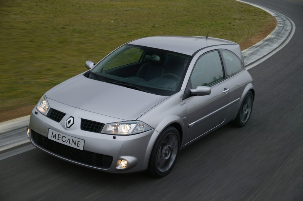 Megane, Megane Renaultsport, Renault Megane Renaultsport, Renaultsport 225, hot hatch, French car, performance car, classic car, retro car, motoring, automotive, not2grand, not2grand.co.uk, featured