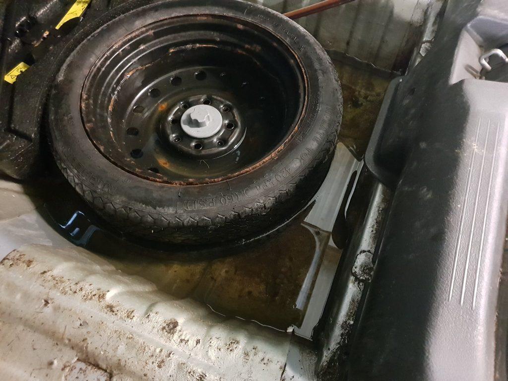 leak, flood, car leak, wet car, car repair, project car, motoring, automotive, retro car, classic car, car maintenance, not2grand, not2grand.co.uk,