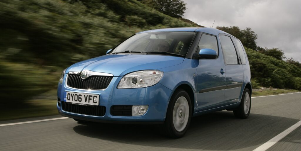Roomster, Skoda, Skoda Roomster, Skoda Roomster review, Skoda Roomster buying guide, family car, practical family car, cheap car, bargain car, motoring, automotive, car, cars, not2grand, not2grand.co.uk