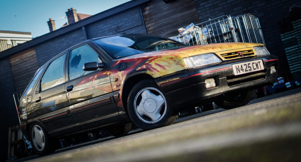 Citroen, Volcane, Citroen ZX, Citroen ZX Volcane, Citroen ZX, motoring, automotive, not2grand, not2grand.co.uk, retro car, classic car, hot hatch, free car, project car, French car, restoration project, rusty rex rallies, banger rally