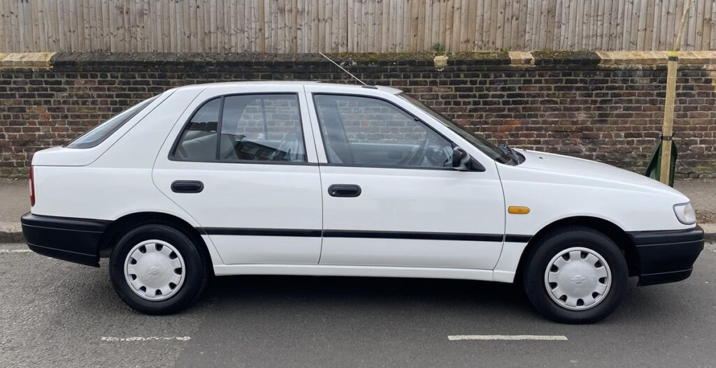 Sunny, Nissan, Nissan Sunny, Nissan Sunny 1.6LX, 1.6LX, twin cam, Japanese car, classic car, retro car, bargain car, cheap car, motoring, automotive, not2grand, not2grand.co.uk, carandclassic.co.uk, car and classic, featured