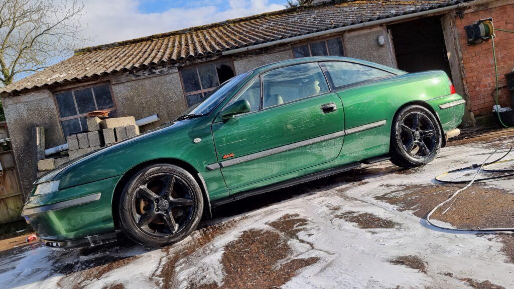 Calibra, Vauxhall Calibra, Calibra 4x4, 4x4 turbo, Calibra 4x4 Turbo, project car, barn find, abandoned car, classic car, total vauxhall, motoring, automotive, not2grand, not2grand.co.uk, car and classic, carandclassic.co.uk, featured