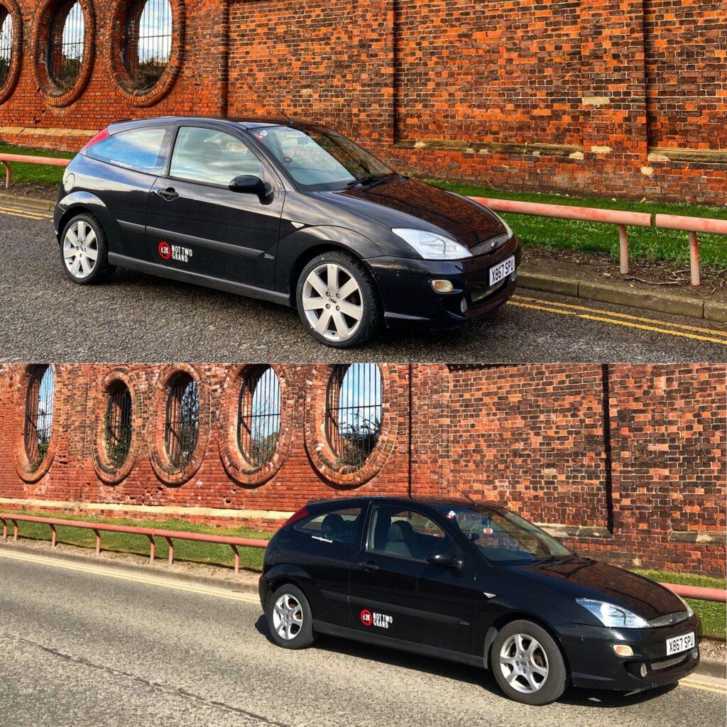 Focus, Mk1 Focus, £50 Focus, not2grand.co.uk, not2grand, motoring, automotive, Falken Tyres, Falken, projecr car, classic car, Mk1 Ford Focus, Ford Focus, not2grand.co.uk
