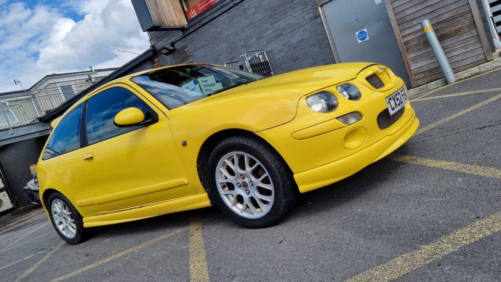 ZR, MG ZR, MG ZR 1.4, Rover, Rover 25, K Series, hatchback, cheap car, not2grand, motoring, automotive, car and classic, carandclassic.co.uk, retro car, project car, car flipping,